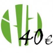Dāvanu karte 40 Eur vērtībā