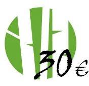 Dāvanu karte 30 Eur vērtībā